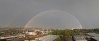 Regenbogen über Krems
