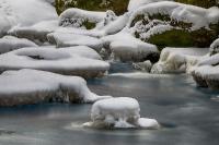 Höllfall und Lohnbachfall im Winter