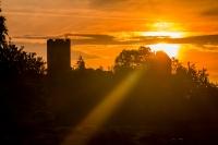 Sunrise Ruine Lichtenfels