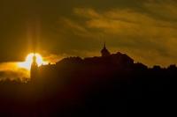 Sunrise über Göttweig
