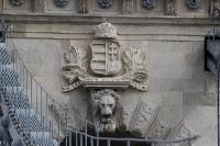Wappen auf der Kettenbrücke